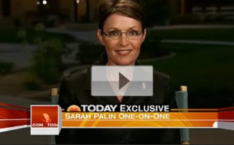 Sarah Palin Attacks David Letterman For Joke on Today Show