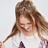 ASOS Pack of 2 Unicorn & Star Hair Clips
