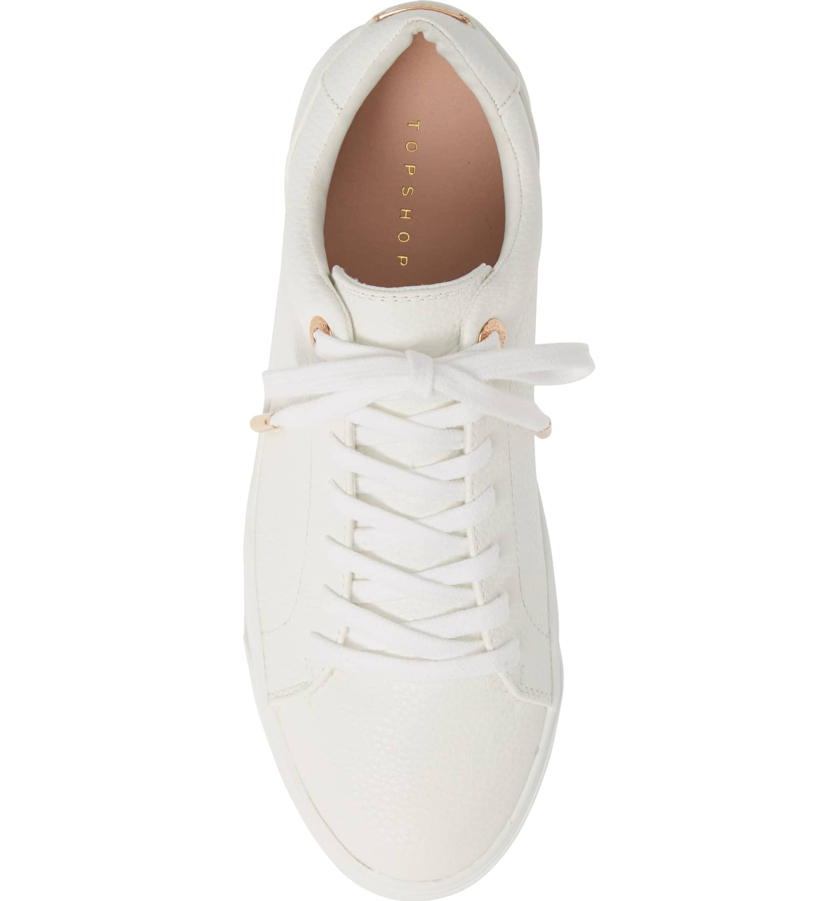 Topshop Curly Low-Top Sneakers | I'm