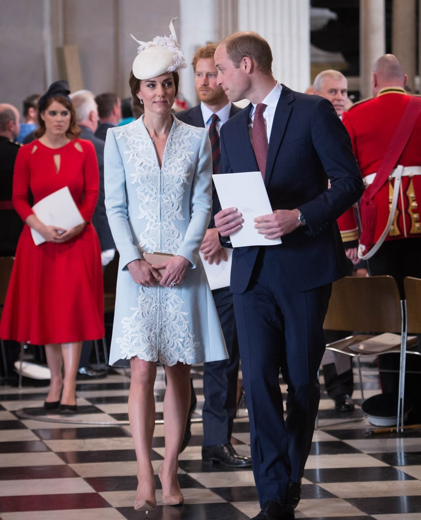 The Royals at Church For the Queen's Birthday 2016