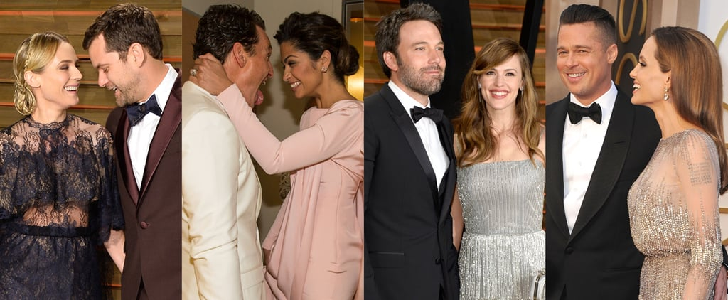 Hollywood Sweethearts Bring Some Love to Oscars Night