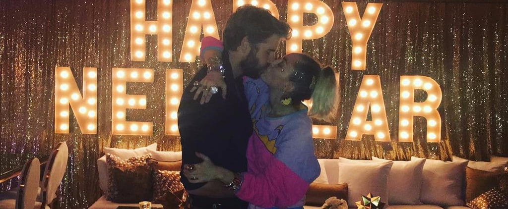 Every Romantic Moment Miley Cyrus and Liam Hemsworth Shared This Year