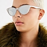 Urban Outfitters Slim Retro Cat-Eye Sunglasses