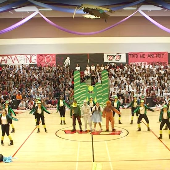 Wizard of Oz High School Dance Team Homecoming Routine