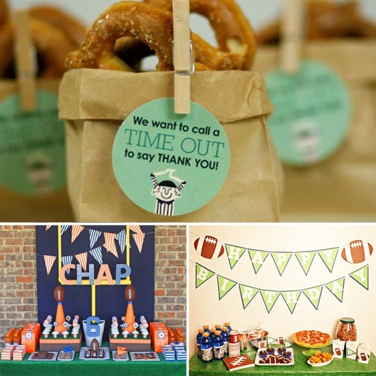 Football Themed Birthday Party Ideas For Boys