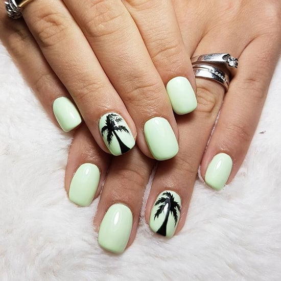 Palm Tree Nail Art Ideas
