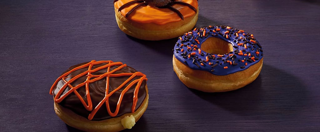 Dunkin' Donuts Unveils This Year's Halloween Treats (and the Dancing Pumpkin Man!)