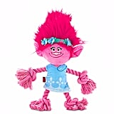 Trolls Poppy Plush with Rope Dog Toy, Large ($10)