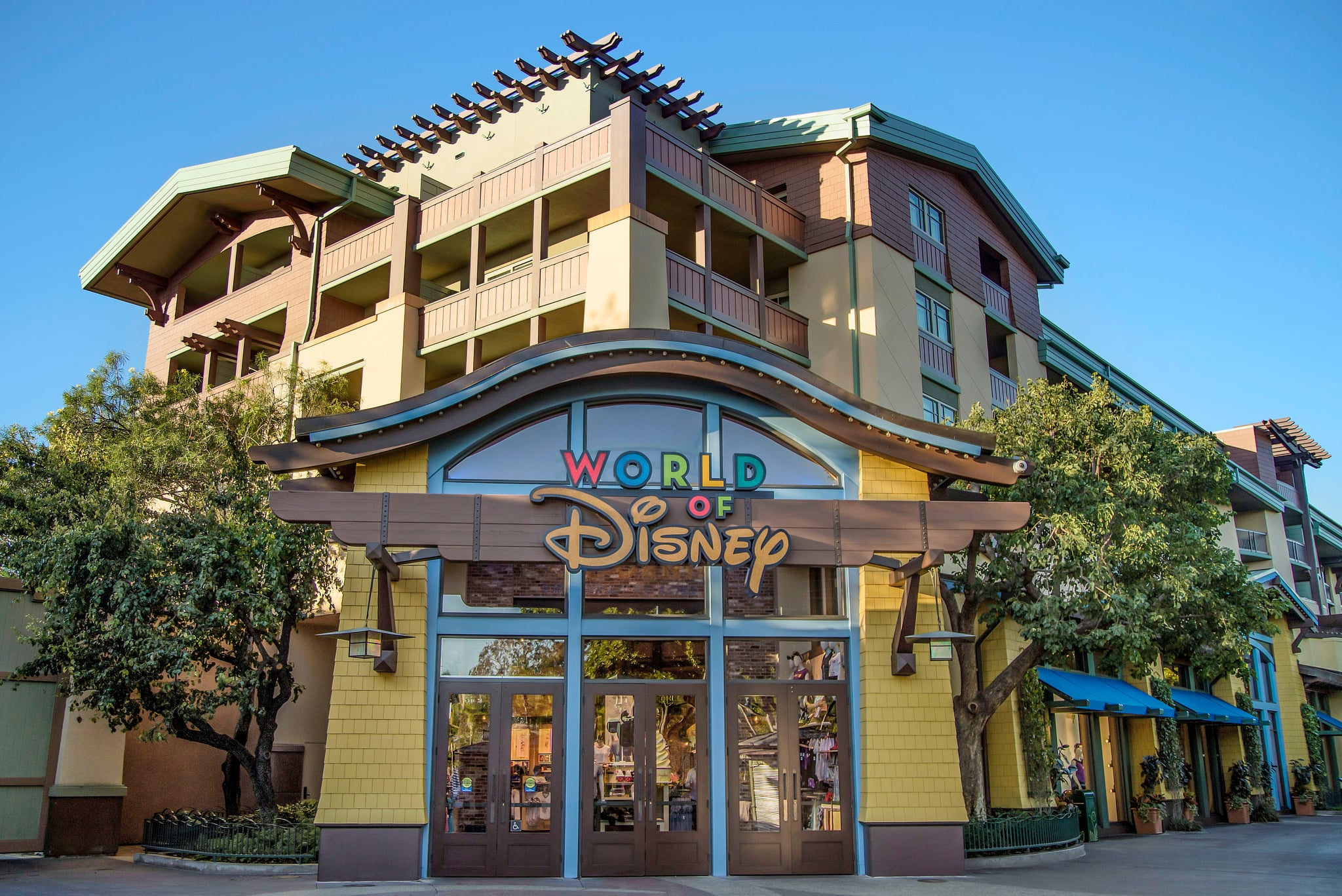 World of Disney, the ultimate shopping destination at the Downtown Disney District, now features a reimagined layout that makes shopping easier and more fun. The transformation begins with the stores exterior, which features new marquees and magical window displays. Inside, guests discover an open atmosphere with uniquely themed areas featuring the hottest Disney merchandise. World of Disney regularly rolls out exclusive Disney Parks merchandise, reinforcing its reputation as a must-visit destination for Disney fans. The Downtown Disney District is located in Anaheim, Calif. (Joshua Sudock/Disneyland Resort)