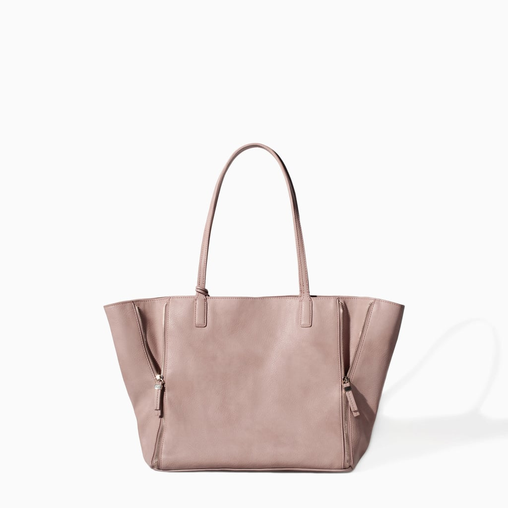 Zara Combined Shopper Bag ($80)