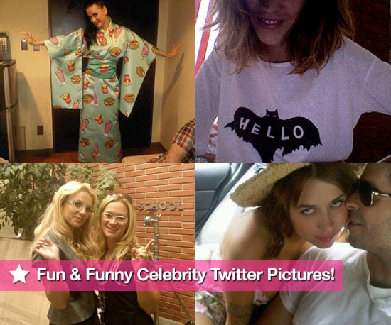 Slideshow Of Fun and Funny Celebrity Twitter Pictures