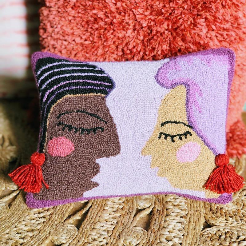Duet Hook Pillow by Justina Blakeney