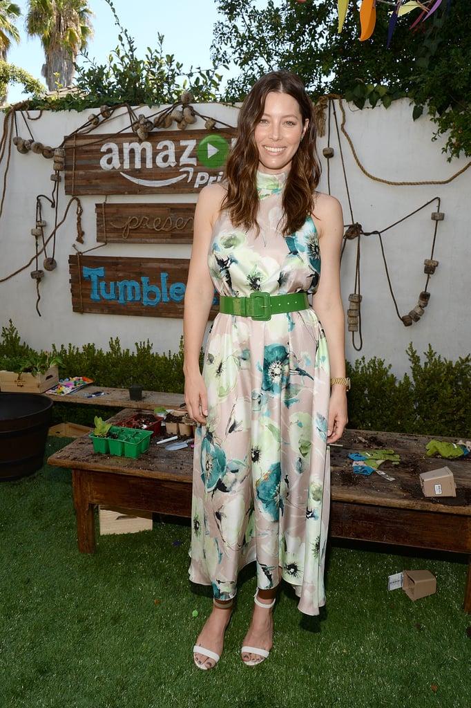 Jessica Biel at Amazon Event September 2015