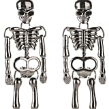 George Halloween Skeleton Earrings