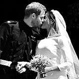 Prince Harry and Meghan Markle Black-and-White Photos