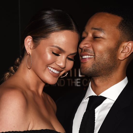 Chrissy Teigen and John Legend on Red Carpet November 2016
