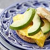 Goat Cheese Avocado Egg Sandwich