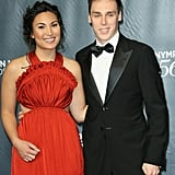 Louis Ducruet and Marie Chevallier