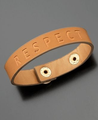 Family Violence Prevention Fund Respect Bracelet