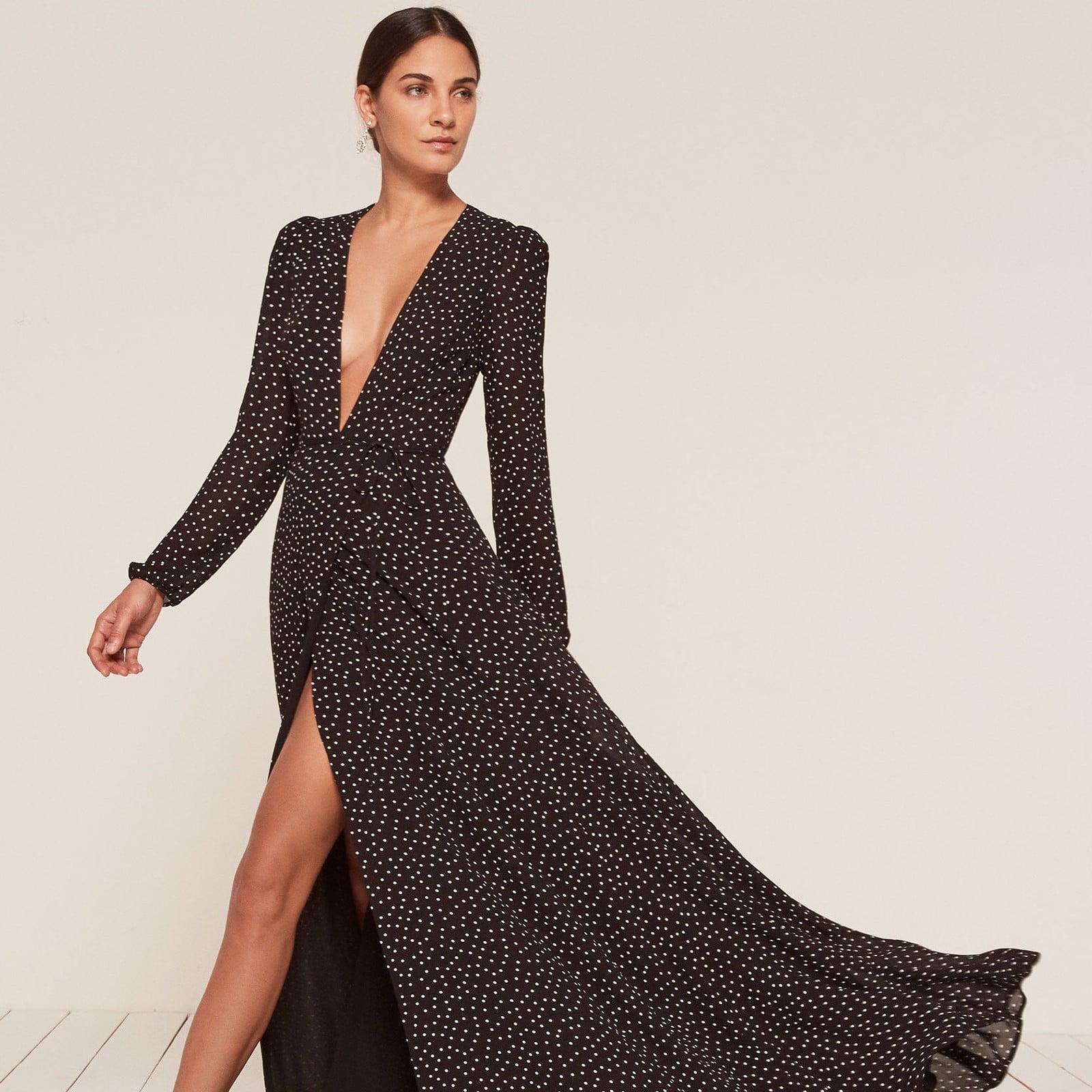 best long sleeve dresses popsugar fashion