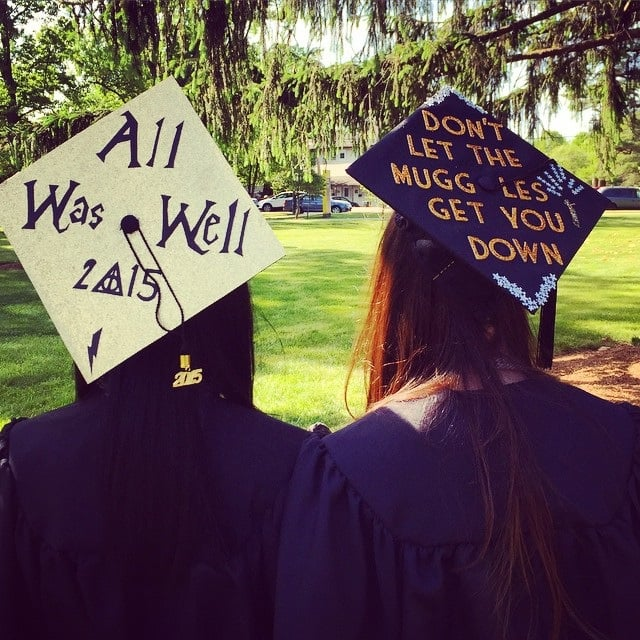Harry Potter Graduation Cap Ideas Popsugar Tech