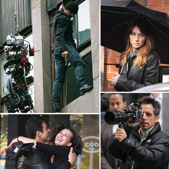 Colin Farrell, Ben Stiller, and More Stars on Set!