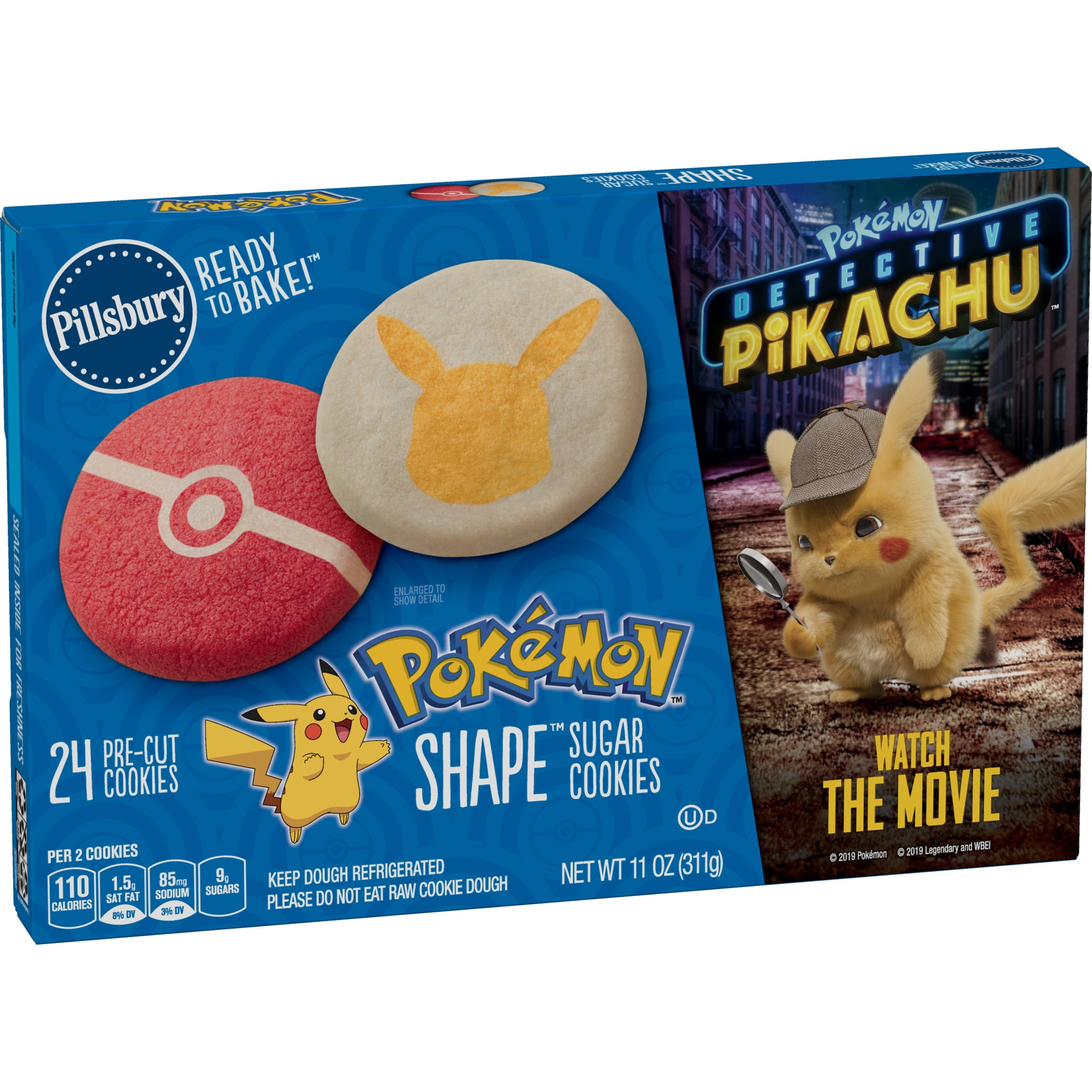 Pokemon Detective Pikachu Pillsbury Sugar Cookies Popsugar Family