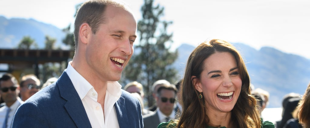 Kate Middleton and Prince William Can't Stop Giggling During the Royal Tour