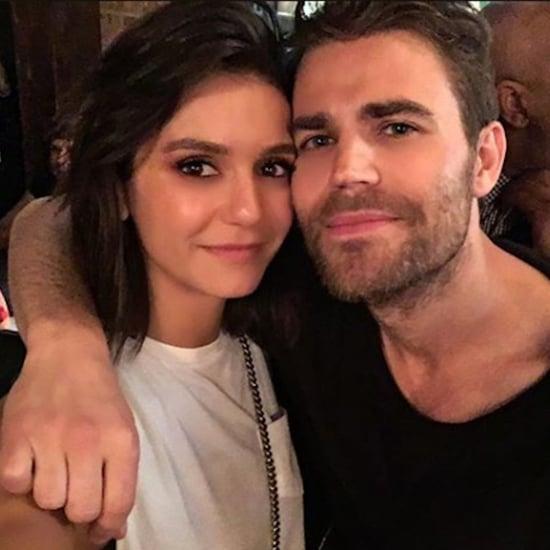 Nina Dobrev and Paul Wesley Instagram Photo May 2018