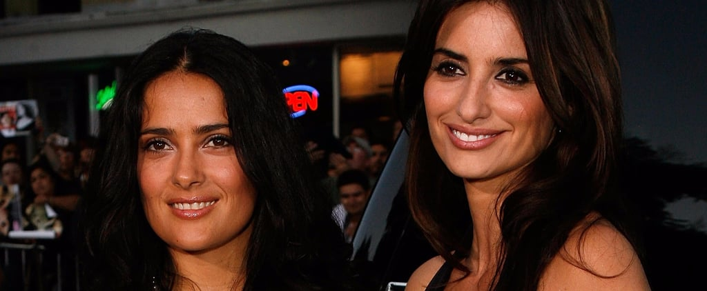 So About That 1 Time Penélope Cruz Did Salma Hayek's Hair and Makeup For the Red Carpet