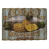 Aloha Isle Refreshments Wall Sign