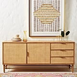 Wallace Cane and Oak Sideboard