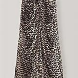Ganni Silk Stretch Satin Skirt ($370).