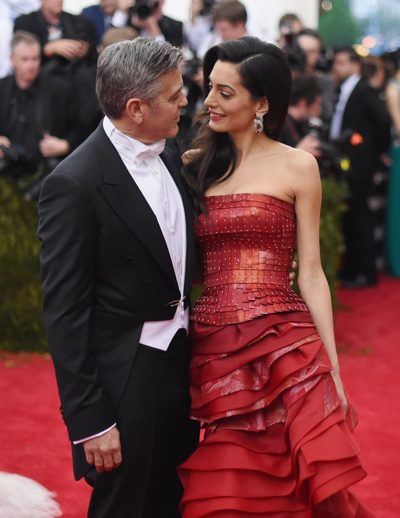 "George and Amal Clooney are one of the biggest couples in Hollywood, but they are also incredibly private people. While they usually shy away from talking to the press about their love, the actor made a sweet exception when he recently sat down with The Hollywood Reporter at his Lake Como home. Aside from gushing about his relationship with Amal (including revealing the romantic way he proposed), he also opened up about his newborn twins, Alexander and Ella, and how fatherhood has changed him. Amal also revealed a few tidbits about their life together, and it all sounds so wonderfully normal. See their best quotes ahead.      Related:                                                                                                           George Clooney Admits He ""Chased"" Amal For ""Many Months"" After They First Met"