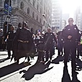 "Batkid walked along the streets of San Francisco, which was transformed into ""Gotham City"" for the day."