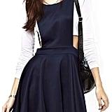 Chicnova Dark Blue Overall Dress
