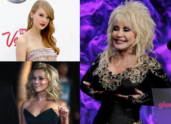 """Dolly Parton: Reese Witherspoon Needs a Boob Job, Taylor Swift Has """"No Boobs"""""""