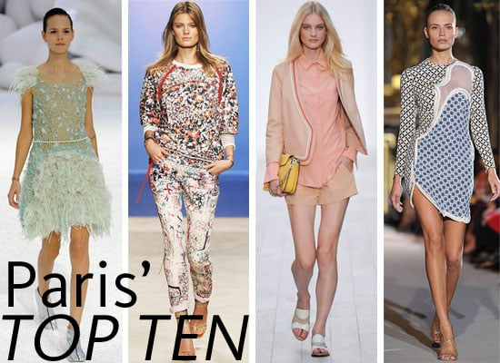 Pictures of the Top Ten Shows From Paris Fashion Week Spring Summer 2012: Chloe, Chanel, Isabel Marant and more...