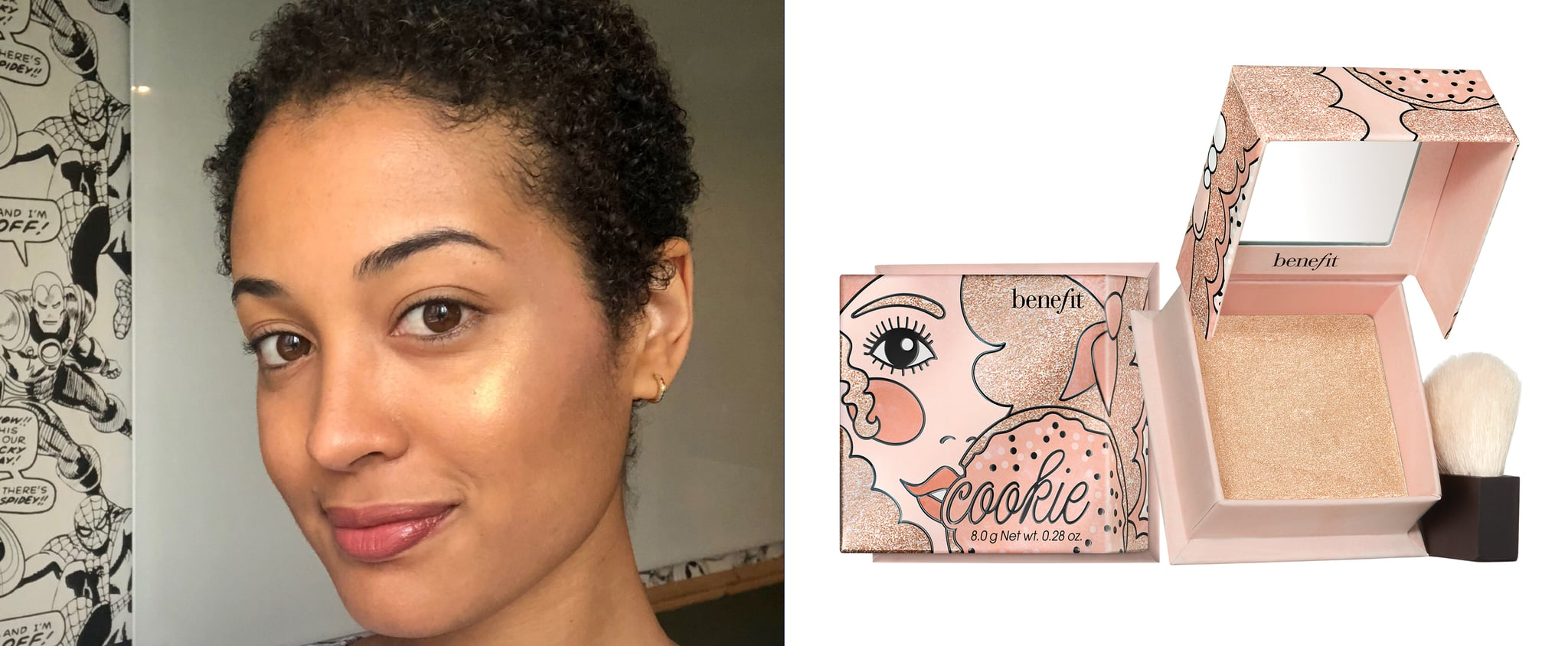 Benefit Cosmetics Cookie and Tickle Highlighter Review Photo
