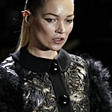 Smoking Kate Moss Returns to the Catwalk For Louis Vuitton