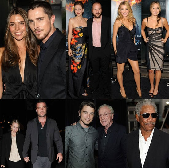 Photos of Christian Bale, Lauren Conrad, Blake Lively, Josh Hartnett at the Premiere of The Dark Knight in NYC