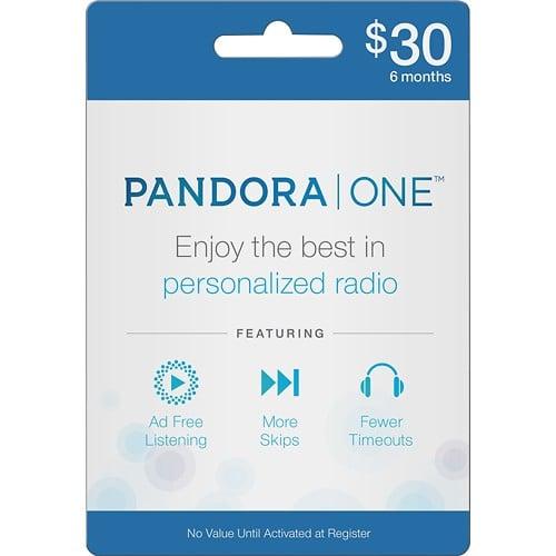 Pandora One Gift Card