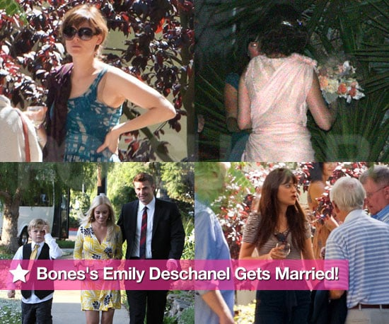 Pictures of Emily Deschanel and David Hornsby's Wedding