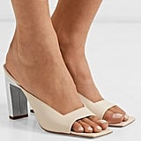 Wandler Isa Two-Tone Leather Mules