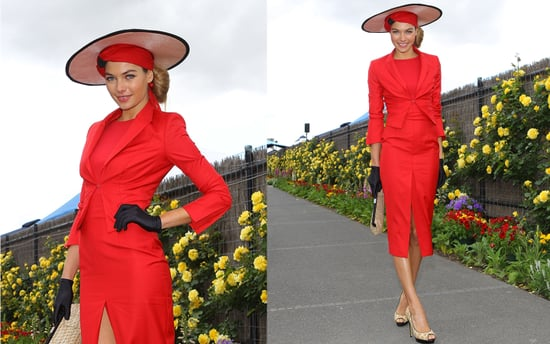 Jess Hart in Wayne by Wayne Cooper at Crown Oaks Race Day in Melbourne 2010.