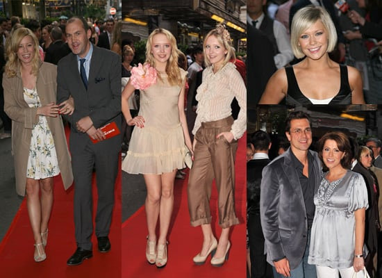 Pictures of Denise and Johnny, Sam and Amanda, Suzanne Shaw and Natasha Kaplinksy at Never Forget The Take That Musical