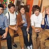 One Direction at the Launch of Nokia Handsets in London in 2011