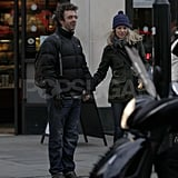 Rachel McAdams and Michael Sheen together in London.