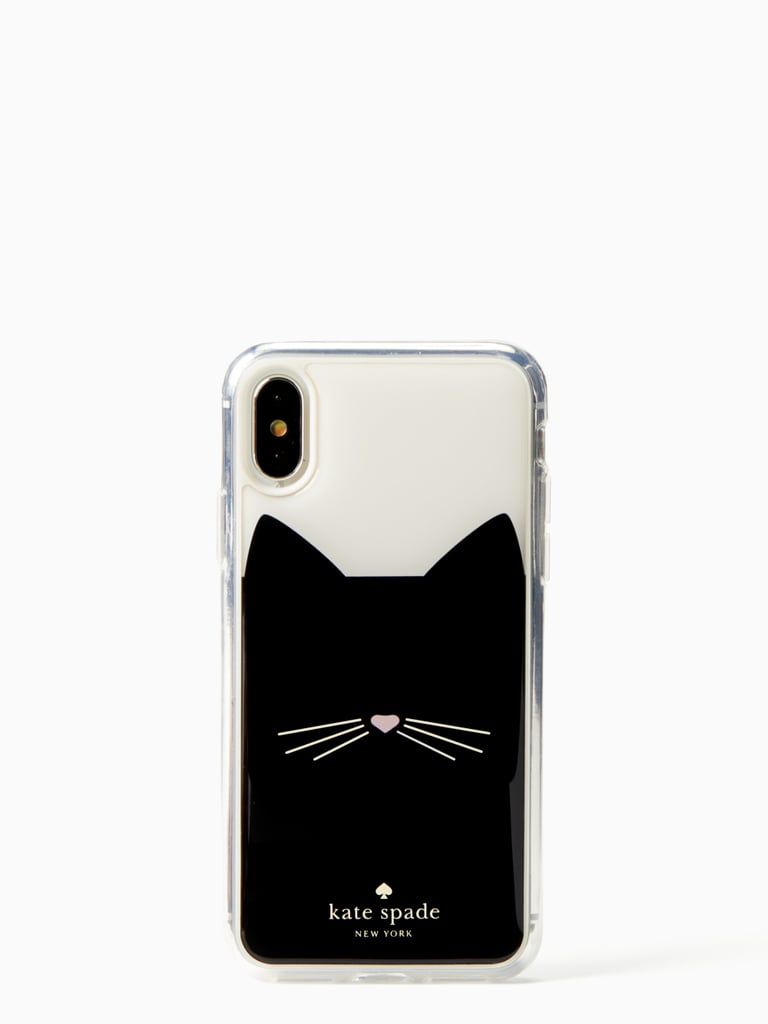 8f6e4d0f55 Kate Spade Cat Hands-Free Case | iPhone XS Cases | POPSUGAR Tech ...