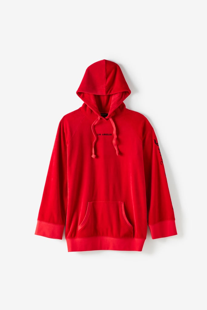 Juicy Couture For UO Oversized Velour Hoodie  ($184)